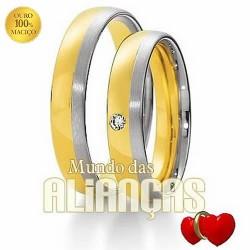 Alianças de casamento em ouro