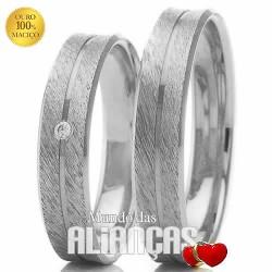Alianças de ouro para noivado ou casamento