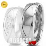 Aliança em ouro para casamento